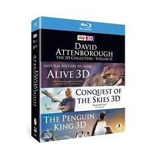 David Attenborough The 3D Collection Volume II Blu Ray Natural History Museum
