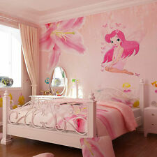 Fairy Princess Butterly Decals Vinyl Art Mural Wall Sticker Kids Girl Room Decor