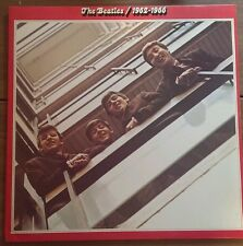 The Beatles 1962-1966 2 Red Vinyl LP Set 1978 Capitol SEBX11842 Never Played M-