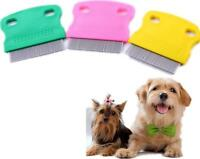 Hair Lice Nit Pets Flea Egg Dirt Dust Remover Steel Tooth Comb Health Brush AU、