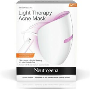 Light Therapy Acne Mask New Sealed box Activator & 30 treatments Free Shipping