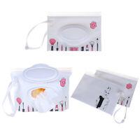 1 PC Propre lingettes sac humides sac cosmétique  sac portable lingettes