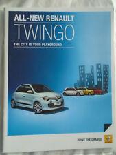 Renault Twingo range brochure Jan 2015