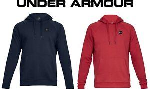 Under Armour Mens Rival Fleece Training Hoody Sweatshirt UA 1320736
