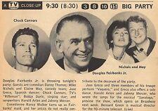 1959 TV AD~CHUCK CONNERS THE RIFLEMAN~ELAINE MAY~MIKE NICHOLS~DOUGLAS FAIRBANKS