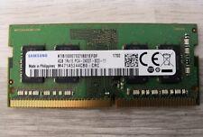Barrette mémoire ordinateur portable SODIMM DDR4 SAMSUNG PC4-19200 2400T SC0 4Go