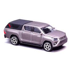 Majorette Toyota Hilux Revo Pickup Series Diecast Cars 292K 1:58 3-Inch (Gray)