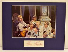 """""""The Sound of Music"""" Photo with Mary Martin Autograph (includes COA)"""