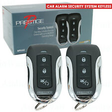 New Car Alarm Security System Keyless Entry System 3 Channel 1Way + 2 Remotes