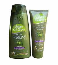 DALAN D`OLIVE OLIVE OIL COLOR PROTECTION SHAMPOO & CONDITIONER - PARABEN FREE