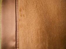 100 % Seide Luxus Sofadecke Kuscheldecke  braun 160 x 210 cm, Maulbeerseide