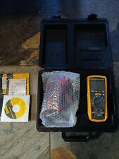 New Fluke 1587 Insulation Multimeter with Test Leads & Hard Case CD
