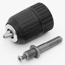Schnellspannbohrfutter bis 13 mm mit SDS-Plus Adapter Bohren ohne Schlag