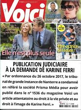 VOICI n°1565 03/11/2017  Claire Chazal_Jenifer_Holmes_Spacey_Millie Bobby Brown