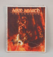 AMON AMARTH The Crusher (WHITE Border Printed Small Patch) (New)