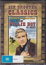 TELL THEM WILLIE BOY IS HERE - Robert Redford, Katharine Ross, - DVD - NEW