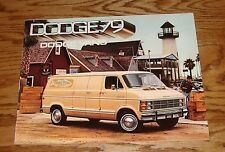 Original 1979 Dodge Van Full Line Sales Brochure 79