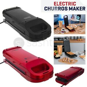 Electric Churros Maker Machine Thermostatically Doughnut Waffle Oil-free Healthy