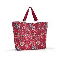 reisenthel shopper XL Einkaufstasche Tasche Schultertasche Paisley Ruby 35 L
