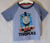 Boys Mothercare Blue Thomas the Tank Engine Train T-Shirt Tee Age 2-3 Years