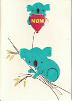 Papyrus Valentine's Day card - To The Most Amazing MOM Ever Mother  Felt Koalas