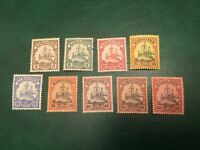 ICOLLECTZONE Cameroon- German Occupation VF mostly NH Stunning and tough issue!