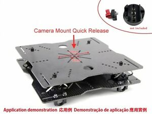 Wire-Rope Isolator Mounting Plates Set for DJI Camera Gimbal