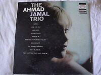 THE AHMAD JAMAL TRIO VINYL LP ALBUM EPIC RECORDS MONO PERFIDIA, SQUEEZE ME, VG+