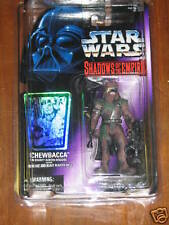 Chewbacca as Bounty Hunter (Shadows of the Empire)  **Star Wars Unopened**