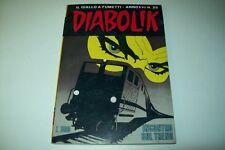 DIABOLIK INEDITO SERIE ORIGINALE-ANNO XVI-N. 25-INCONTRO SUL TRENO-5/12/1977
