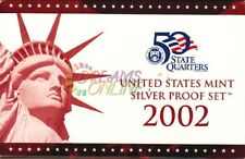 2002 U.S. Mint Silver Proof Set with State Quarters NIP