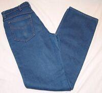 Genuine Roebucks Denim Jeans 32 x 36 Vtg Vintage Blue Mens