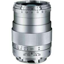 Brand New Carl Zeiss Tele-Tessar T* 85mm F4 ZM Lens Silver Leica M M10 M9 M8.2