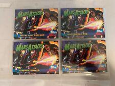 Mars Attacks Topps Archives 1994 Matrix Set 4 Trading Cards