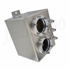 3L Dual Hole Aluminum Oil Fuel Reservoir Sub Tank for SUV Truck RV Offroad 4X4