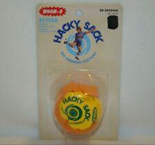 WHAM-O Styler Hacky Sack The Official Footbag Ball Orange Yellow NEW