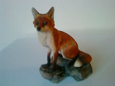 Border Fine Arts Figure of a Fox, signed on base by Judy Boyt - BFA Scotland