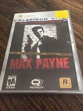 Max Payne Original Xbox Cib Game XG2