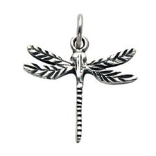 Sterling Silver Dragonfly Pendant/Charm