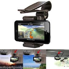 Universal Car Sun Visor Clip Mount Holder Stand Bracket For Mobile Phone GPS Pad
