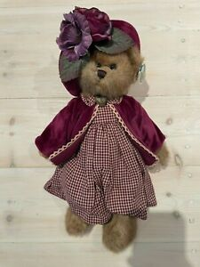 Bearington Collection Leslie NEW condition limited edition bear chequered dress