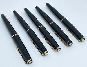 A Lot Of 5 Pens - Vintage Montblanc Model No 221, No 34, No 310 Fountain Pens