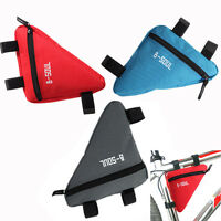 Waterproof Front Tube Triangle Bag Frame Pouch Cycling Bike Bicycle Release New