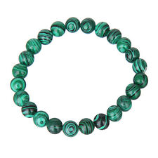 Fashion Women 8mm Natural Stone Jade Round Beads Stretch Bracelet 67 Colors