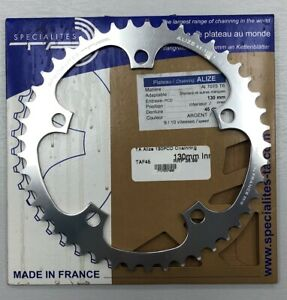 NEW TA specialities 45t ALIZE chainring  9 10 speed 7075 (zicral) alloy 130BCD