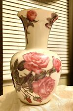 Beautiful Romantic Rose Victorian Porcelain Vase