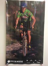 Vintage Bike Poster 1994 Bontrager Paul Willerton  US Mountain Team Member Wall