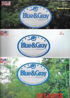 Blue & Gray Magazine Special Atlanta Three Issue Set 1989 Collection
