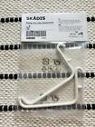 IKEA SKADIS Hook  White 2 PACK