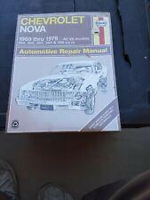 Repair Manual Haynes 24059 fits 69-79 Chevrolet Nova ALL V8 MODELS